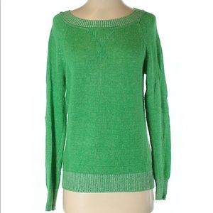 Gap green wool blend sweater